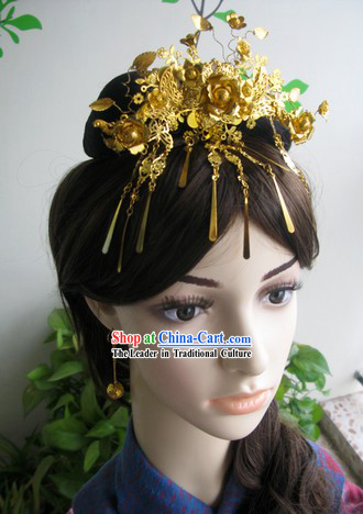 Traditional Chinese Wedding Hair Accessories