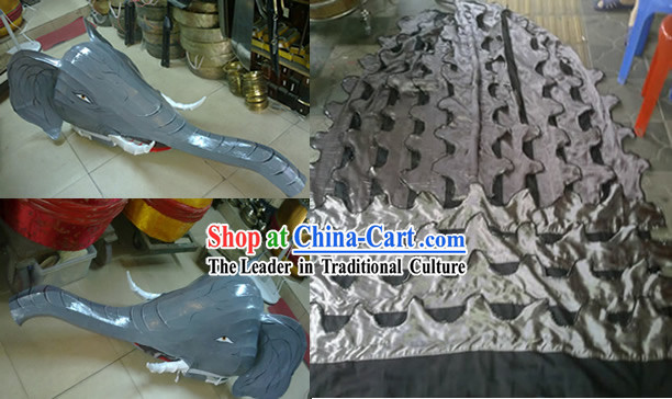 Elephant Head Body Pants Shoes Dance Costumes _all creature's costumes can be custom made_