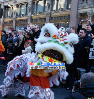 Great Parade and Festival Celebrations Chinese Lion Dance Costume Complete Set for Children