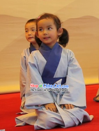 Traditional Chinese Hanfu Clothes for Kids