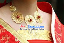 Ancient Chinese Handmade Bridal Necklace for Wedding Use