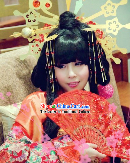 Ancient Asian Cosplay Princess Hair Accessories Complete Set