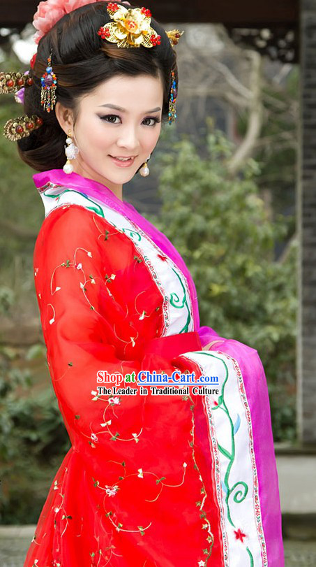 Traditional Chinese Tang Dynasty Gui Fei Costumes for Women