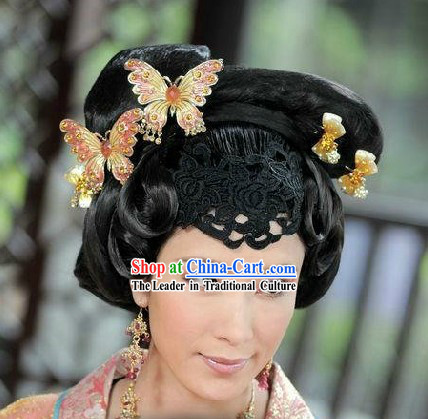 Ancient Chinese Empress Buttefly Hair Accessories Set