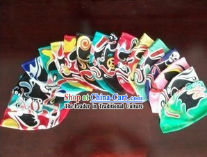 Traditional Chinese Handmade Silk Changing Mask