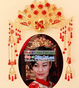 Chinese Classical Phoenix Crown for Women