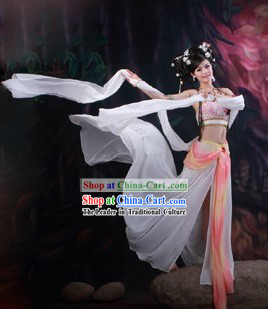 Ancient Chinese Feitian Fairy Dance Costumes for Women