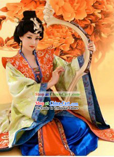 Ancient Chinese Tang Dynasty Empress Costumes
