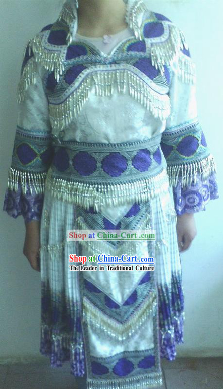 Traditional Chinese Miao Ethnic Clothing for Women