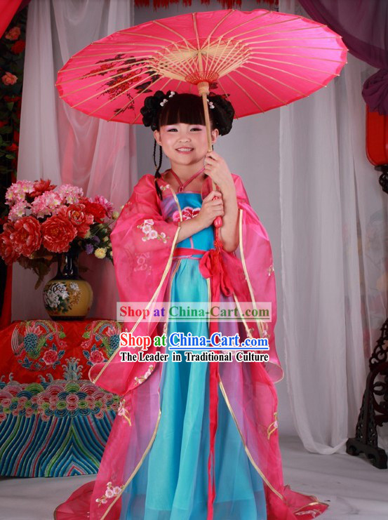 Ancient Chinese Costumes for Kids