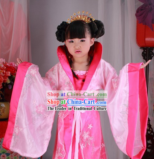 Ancient Chinese Han Dynasty Clothing for Children