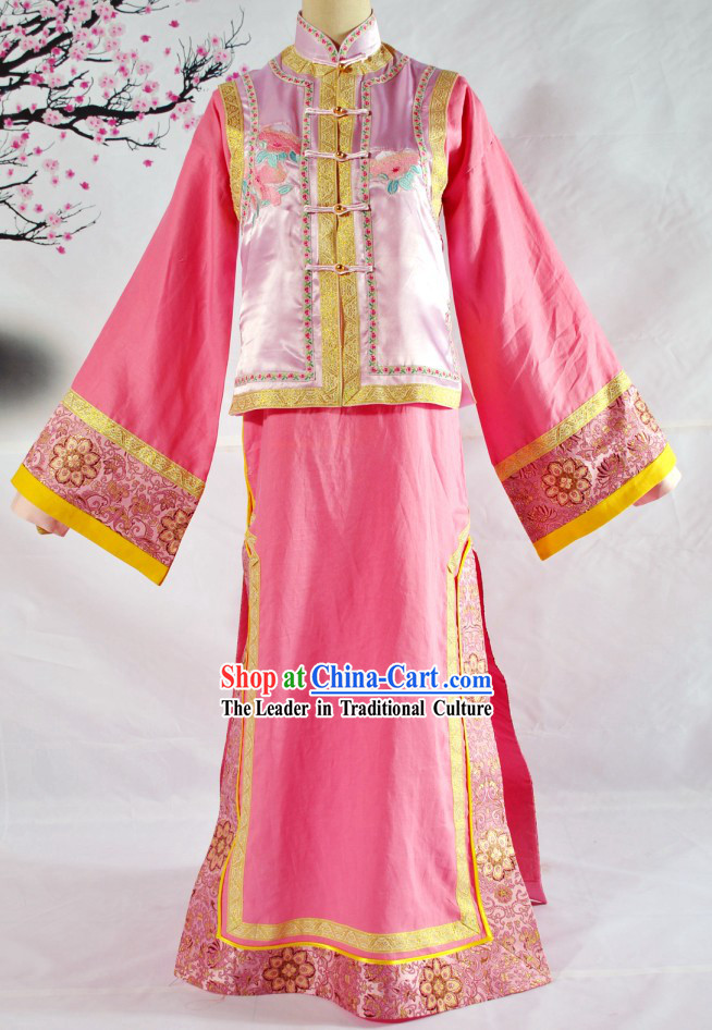 Qing Dynasty Palace Princess Clothing for Children