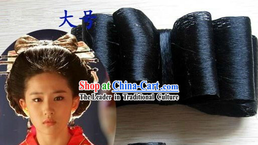 Chinese Classical Bowknot Wig