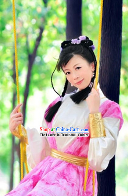 Ancient Chinese Female Knight Costume for Women