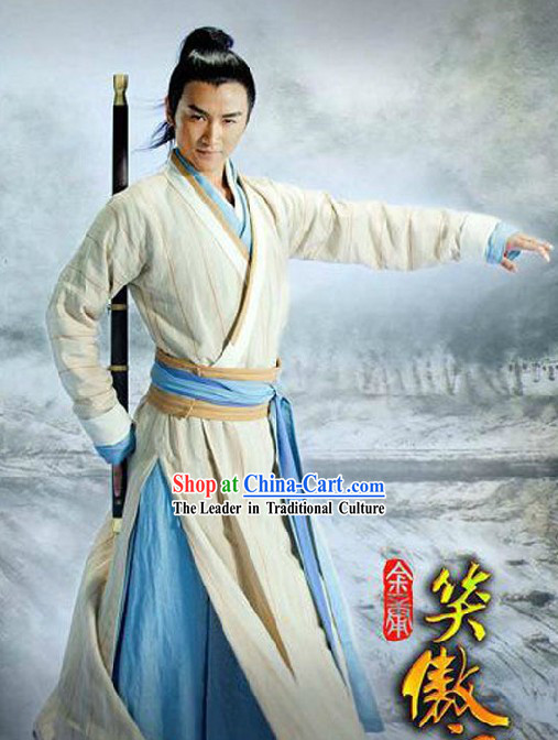 The legendary Swordsman Costume Complete Set for Men