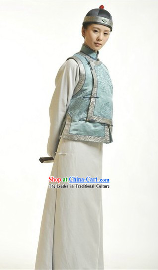 Qing Dynasty Male Costume