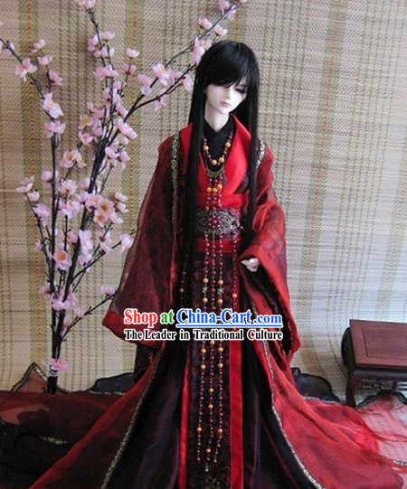 Ancient Chinese Emperor Costume for Men
