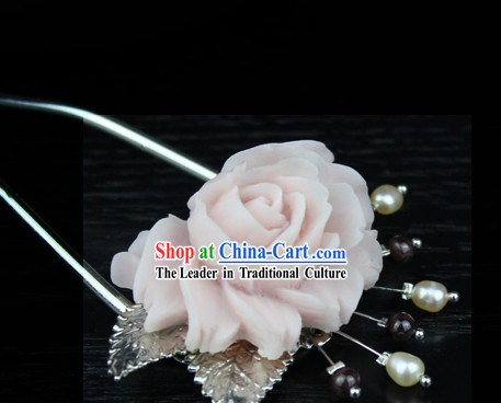 Traditional Chinese Handmade Flower Hairpin