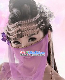 Ancient Chinese Swordswoman Handmade Hair Accessories Set