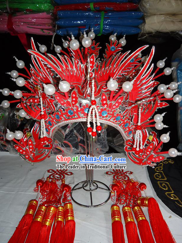 China Beijing Opera Phoenix Crown