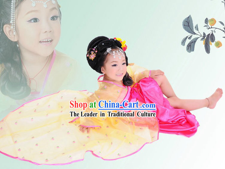 Ancient Chinese Fairy Costume for Children