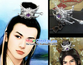 Ancient Chinese Handmade Hair Accessories for Men
