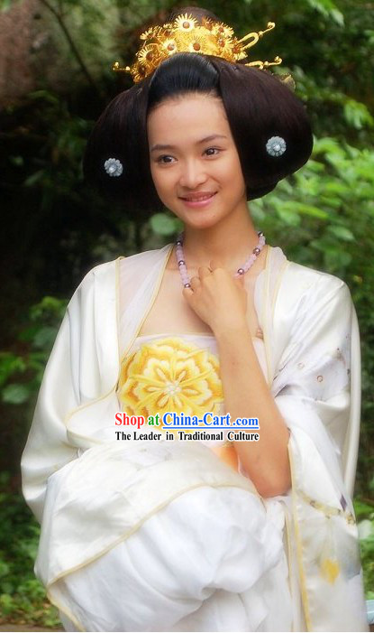 Ancient Chinese Palace Princess Headpiece Crown