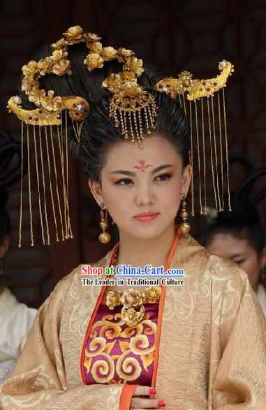 ancient chinese palace princess headpiece