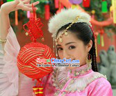 Ancient Chinese Mongolian Princess Hair Accessories