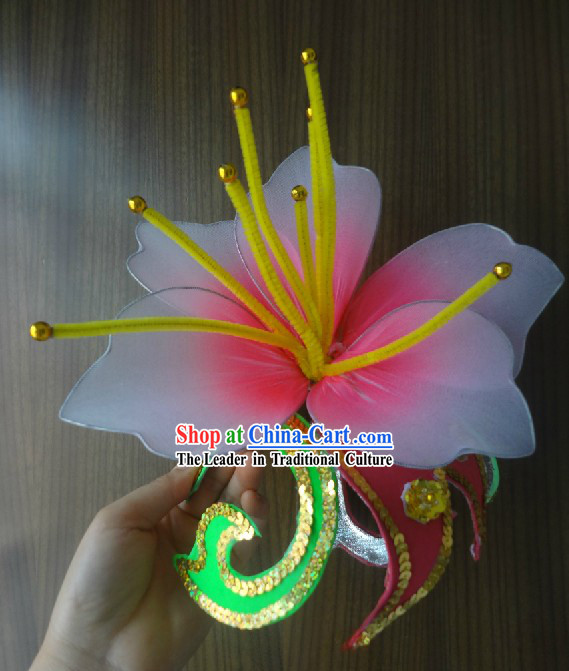 Chinese Classical Dancing Flower Hair Accessories