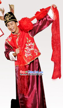 Chinese Classical Wedding Suit for Men