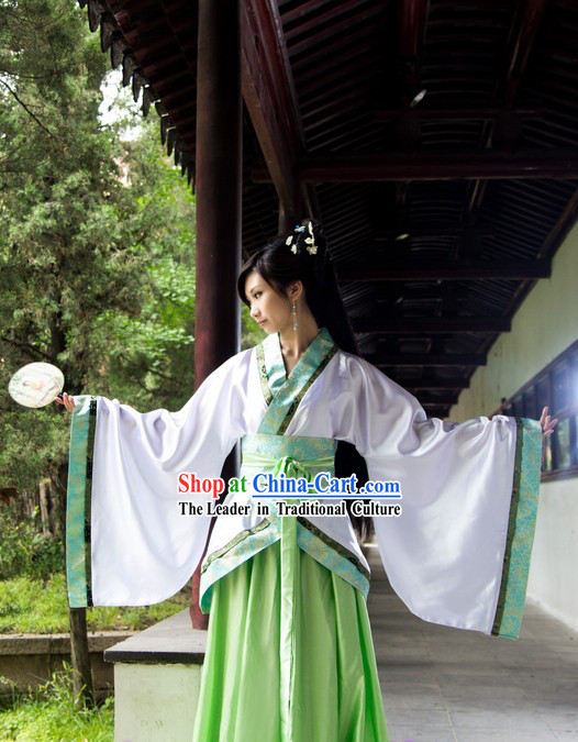 Ancient Chinese Hanfu Dance Costumes for Women