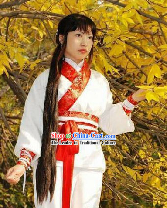 Ancient Chinese Duan Da Hanfu Costumes for Women
