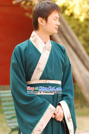 Ancient Chinese Teacher Zhiju Clothes for Men