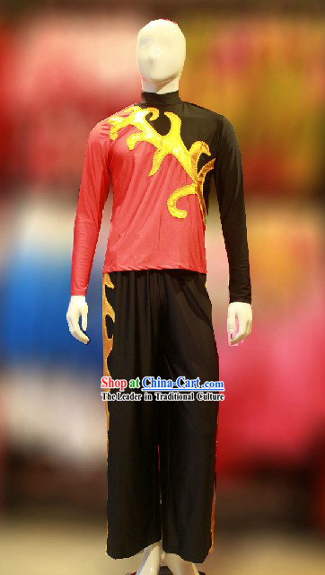 Traditional Chinese Drummer Player Costumes for Men