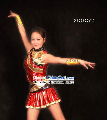 Chinese Aerobics Dance Costumes for Women