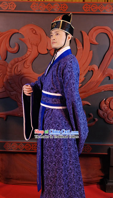 Ancient Chinese Han Dynasty Official Clothing