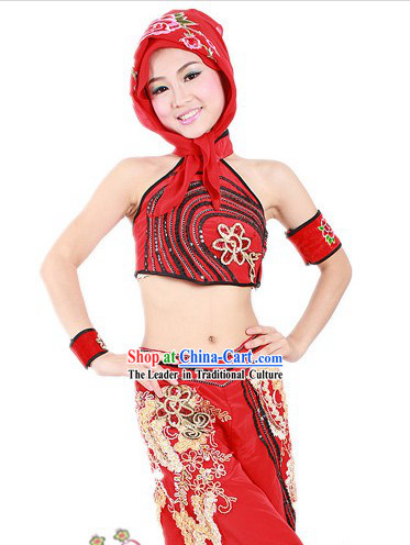 Traditional Chinese Festival Lantern Dance Costumes for Women