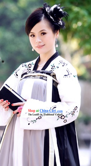 Chinese Classical Tang Dynasty Princess Suit Complete Set