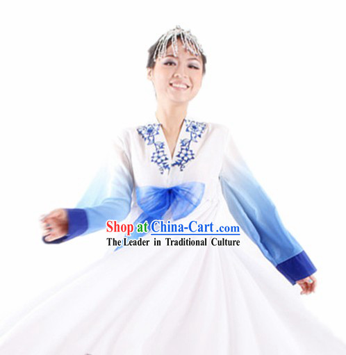 Traditional Chinese Korean Ethnic Costumes for Women