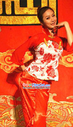 Traditional Chinese Han Minority Dance Costume for Women
