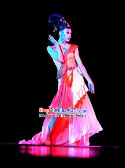 Traditional Chinese Classical Solo Dance Costumes for Women