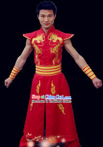 Traditional Drum Dance Costumes for Men