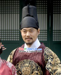 Ancient Korean Ceremonial Hat for Men