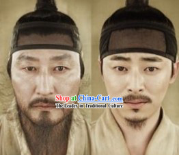 Ancient Korean Wig Hat for Men