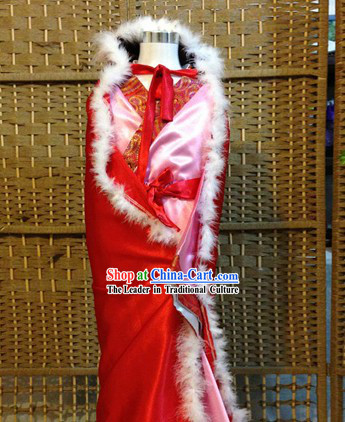 Traditional Chinese Zhao Jun Chu Cai Clothes Outfit Complete Set for Women