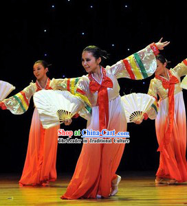 Da Chang Jin Korean Fan Dancing Costumes for Women
