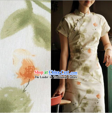 Traditional Chinese Old Shanghai Qipao Cheongsam for Women