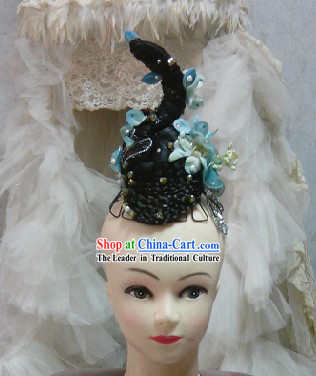 Traditional Chinese Classical Dance Wig Headpieces
