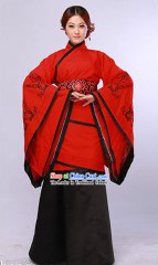 Traditional Chinese Han Fu Clothes Complete Set for Women